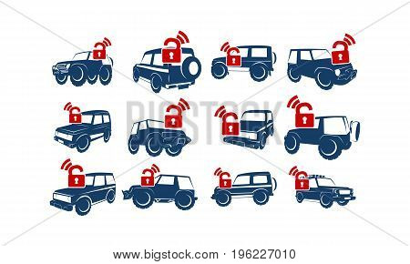 This image describe about Adventure Car Lock Wifi Secure