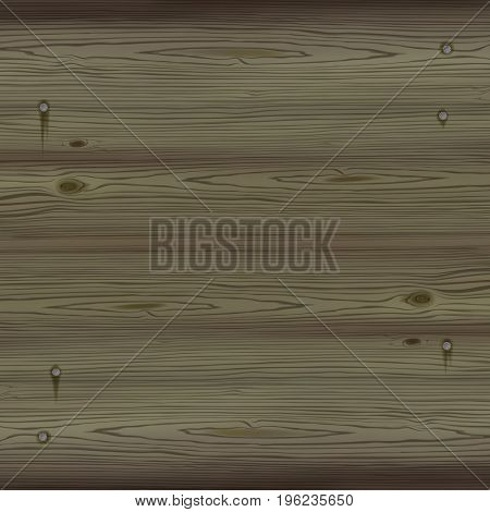 Dark wood background with nails