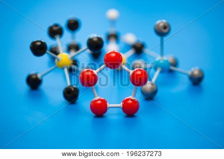 model of chemical molecules