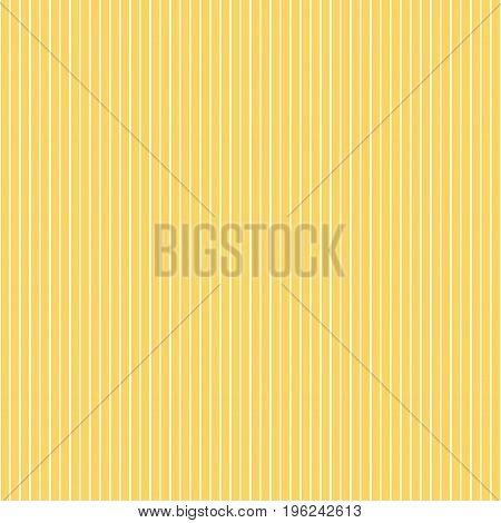 Seamless striped pattern. Vector illustration in yellow.