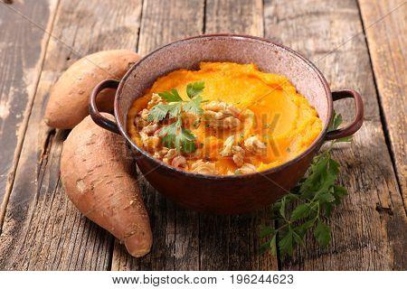 sweet potato mashed