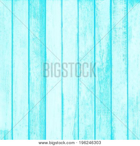 Ligth Blue Wood Wall Plank Texture For Background