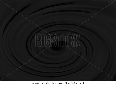 Abstract dark grey whirlpool pattern for background