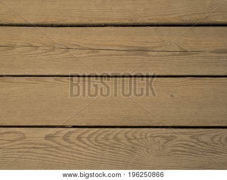 Light yellow untreated wood planks floor background