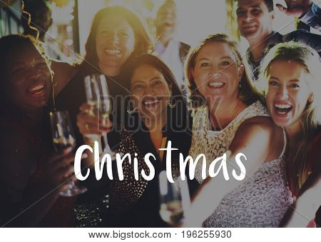 Celebration Christmas Best Wishes Happiness