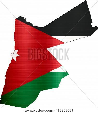 flag map jordan illustration country  nation  design