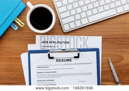 Resume Applying For Jobs