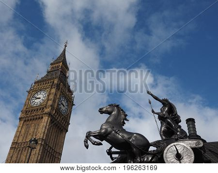 Boadicea Monument In London