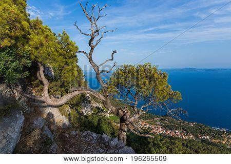 Beautiful View From The Sveti Nikola Mount.