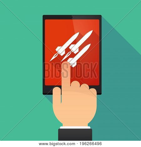 Long Shadow Tablet Pc With Missiles