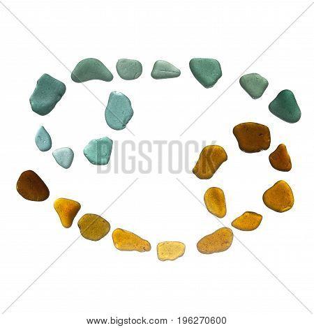 Sea Glass Zodiac Sign