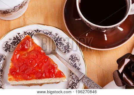 Cheesecake With Goiabada Jam