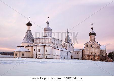 Ferapontov Monastery At Sunrise