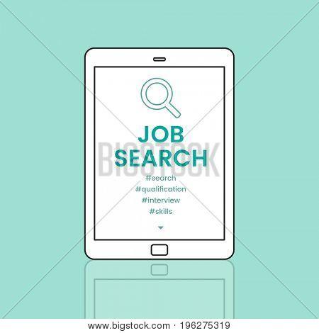 Job Search Recruitment Employment Concept