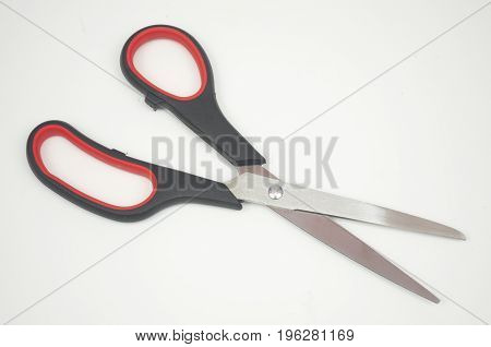 Shears isolated on white background. Scissors. Cut.