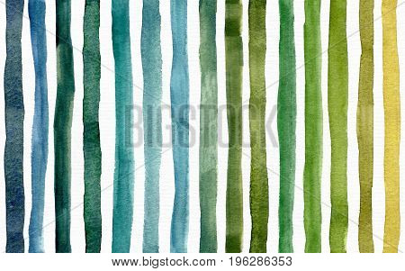 Seamless bright raster pattern with green stripes texture. Large raster illustration