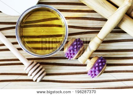 Honey For Massage, Appliances And A Massager
