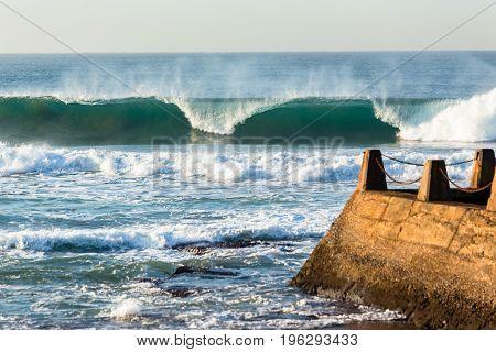 Wave Crashing Tidal Pool