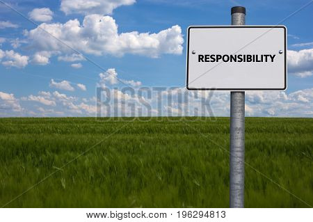 Responsibility - Exemption - Image With Words Associated With The Topic Work Safety, Word, Image, Il
