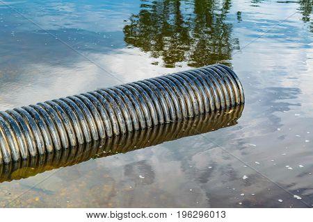 Storm sewage plastic pipe of large diameter poster