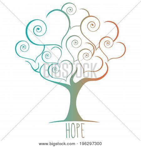 Hope Tree Illustration