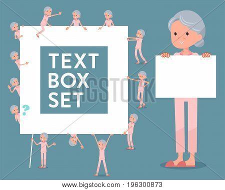 Flat Type Patient Grandmother_text Box