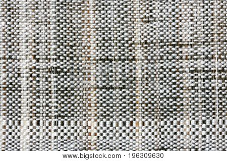 Background with simple rough cloth canvas macro