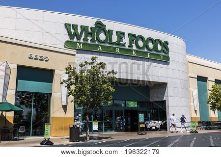 Las Vegas - Circa July 2017: Whole Foods Market. Amazon announced an agreement to buy Whole Foods for $13.7 billion III