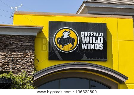 Las Vegas - Circa July 2017: Buffalo Wild Wings Grill and Bar Restaurant. You Can Find Live Sports Wings and Beer at B-Dubs V