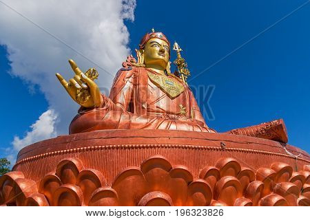 Samdruptse statue at Namchi, Sikkim , India