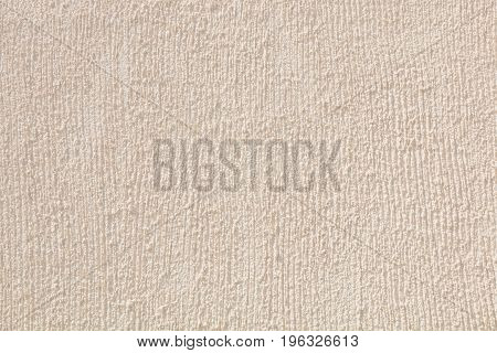 Cream Colored Rough Scratched Concrete Wall