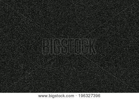 Seamless Texture Of Black Sponge Or Foam