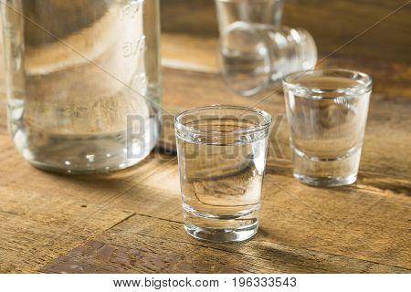 Boozy Alcoholic American Moonshine Shots