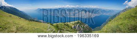 Monte Baldo Panorama View, Italy