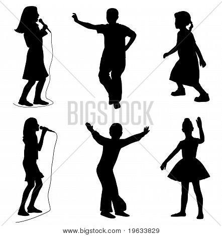 Kids Singing Dancing