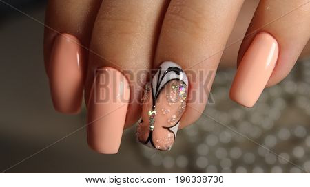 Youth Manicure Butterfly