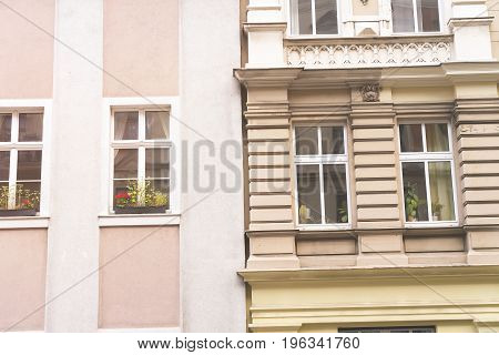 Two Kinds Of Houses In Berlin Kreuzberg
