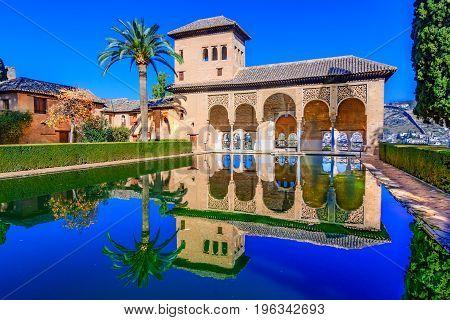 Alhambra, Granada,andalusia, Spain