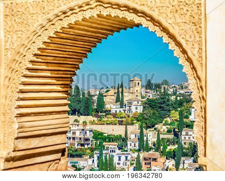 Albaicin Medieval Quarter,granada, Spain