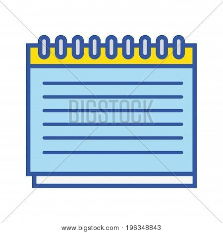 calendar remember important days in the life vector illustration