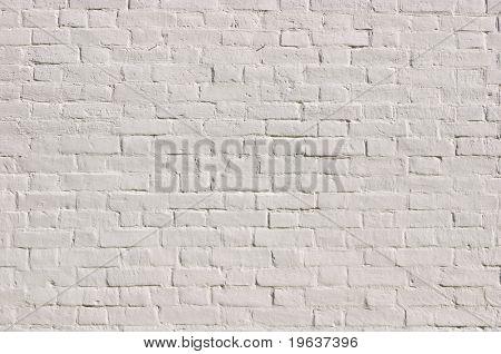 weiße Ziegel-Wand-Muster (siehe auch ID: 36786259)
