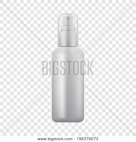 Cosmetic spray icon. Realistic illustration of cosmetic spray vector icon for web