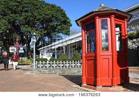 Parnell Village In Auckland New Zealand