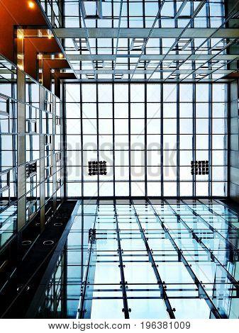 urban modern architecture building