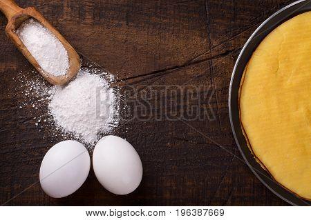 Crepioca - Pancake Of Cassava (tapioca)