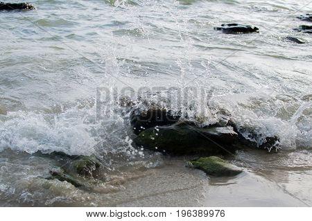 Sea Shore In Sihanoukville Beach