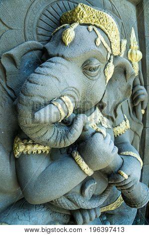 God Ganesh the Hindu faith and beliefs are sacred.