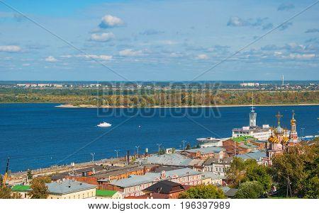Nizhny Novgorod. Embankment of the Volga River