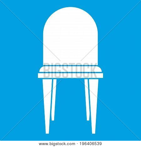 Chair in simple style isolated on white background vector illustration