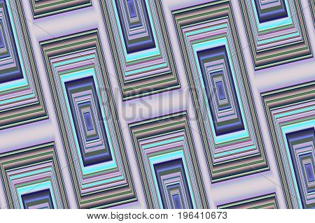 Abstract geometric background 3. Symmetric color pattern from rectangles.
